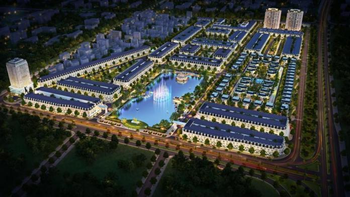 Phối cảnh New City Thái Bình
