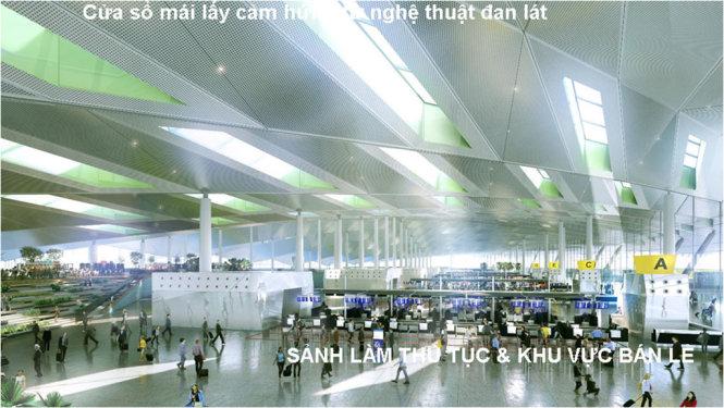 ý tưởng thiết kế sân bay long thành