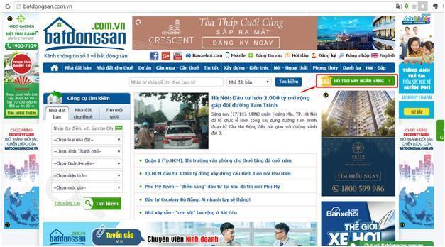 Batdongsan.com.vn và Topbank.vn bắt tay hợp tác chiến lược