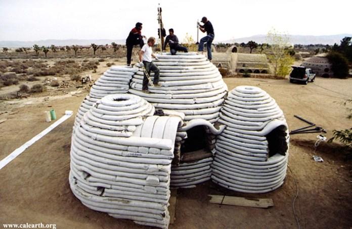 Nhà đất mái vòm