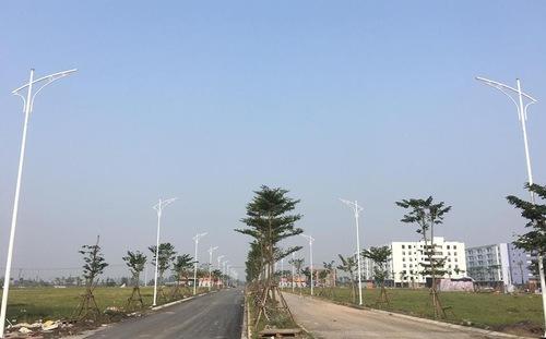 Một góc khu đô thị Thanh Hà