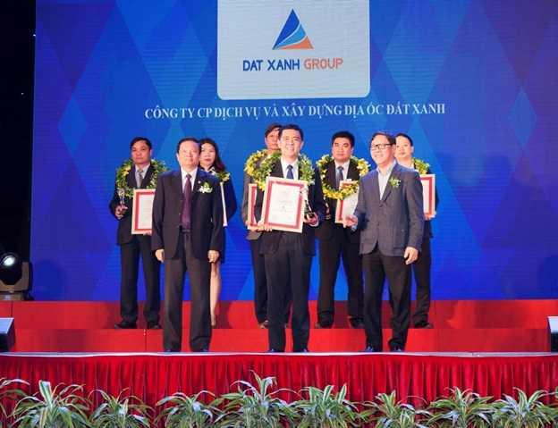 Đất Xanh Group đạt giải thưởng top 10 chủ đầu tư uy tín