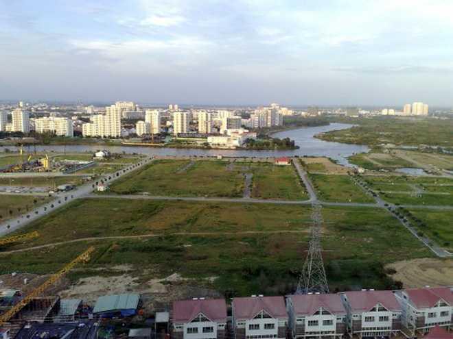 Điều chỉnh giá đất tại hàng loạt các dự án ở Tp.HCM