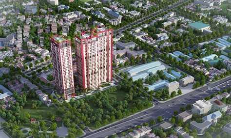 """Mật độ căn hộ """"trong mơ"""" tại Hà Nội"""
