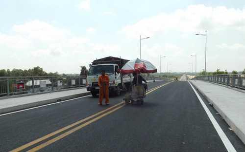 Thông xe tuyến đường bộ ngắn nhất nối Việt Nam và Campuchia