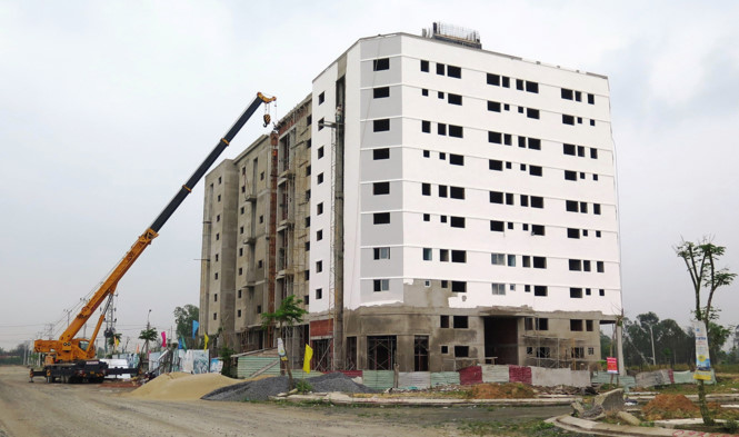 Nhà ở cho công nhân xây dựng 3 năm vẫn chưa xong