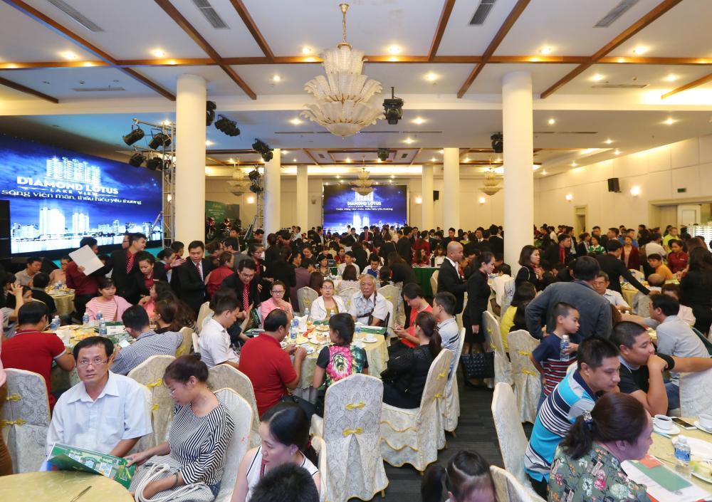 Phúc Khang mở bán thành công Diamond Lotus Lakeview