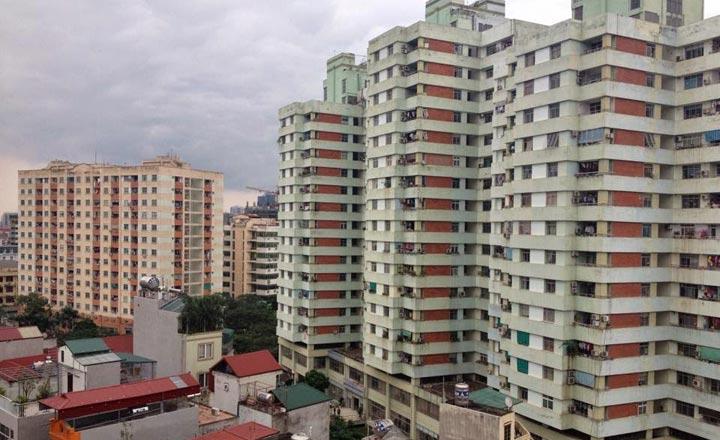 Sở Xây dựng: Căn hộ chung cư Hà Nội tăng giá nhẹ