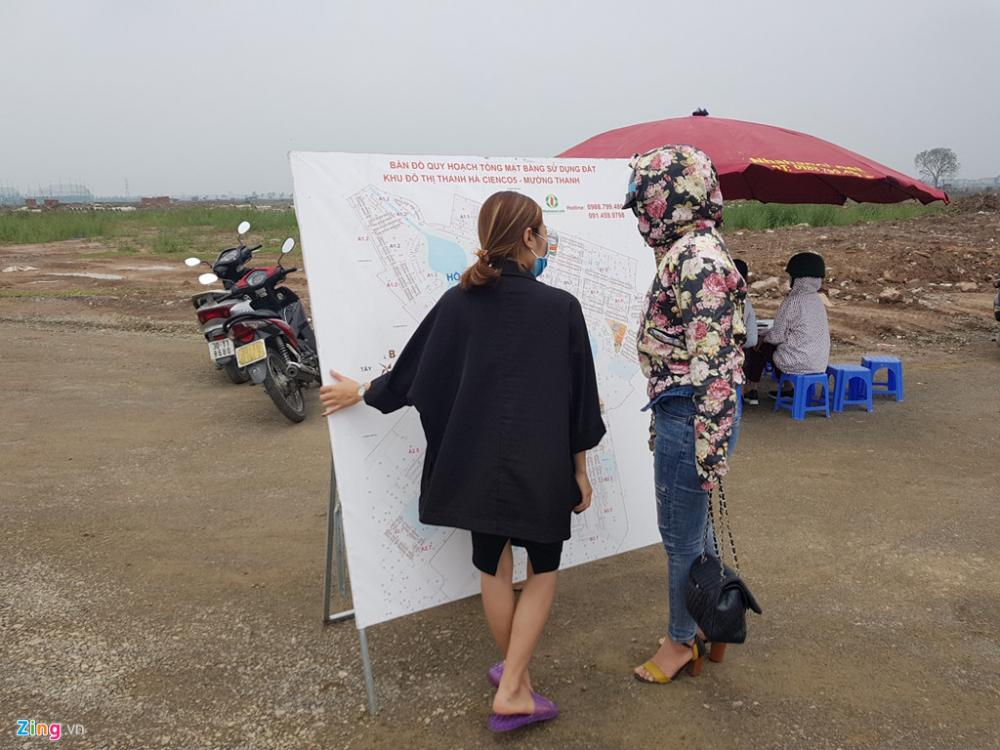 """Đất đô thị Thanh Hà bị """"cò"""" thổi giá từ 18 triệu lên 45 triệu đồng/m2 1"""