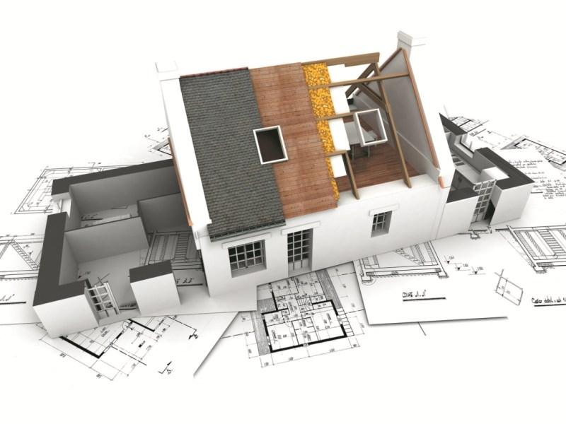 Minh họa bản vẽ thiết kế nhà