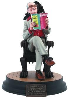 Forrest J Ackerman, the Dark Horse Comics statuette