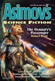 Asimov's September-October 2020 edited by Sheila Williams, art by Maurizio Manzieri