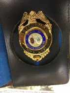 Mike Hammer real life police badge