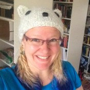 Knit hat for Helsinki in 2017