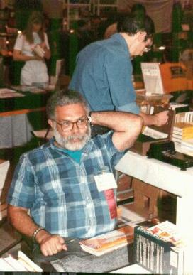 Samuel Delany at Noreascon 3. Photo by Frank Olynyk from Fanac.org site.
