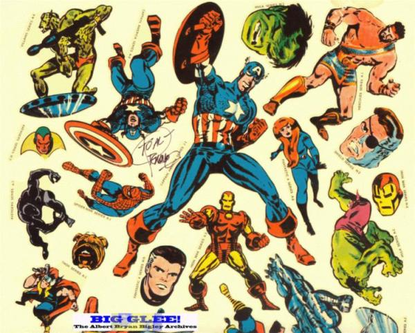 marvelmania_sticker_sheet_steranko_kirby_fantastic_four_2 COMP