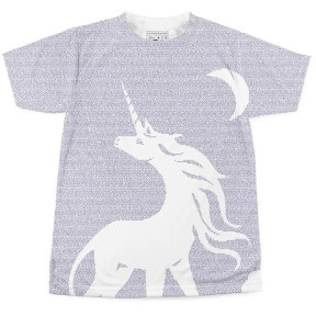 "Litographs t-shirt design for Peter S. Beagle's ""The Last Unicorn"""