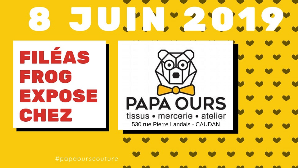Expo/vente chez Papa Ours