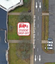 High School Drop-Off Area