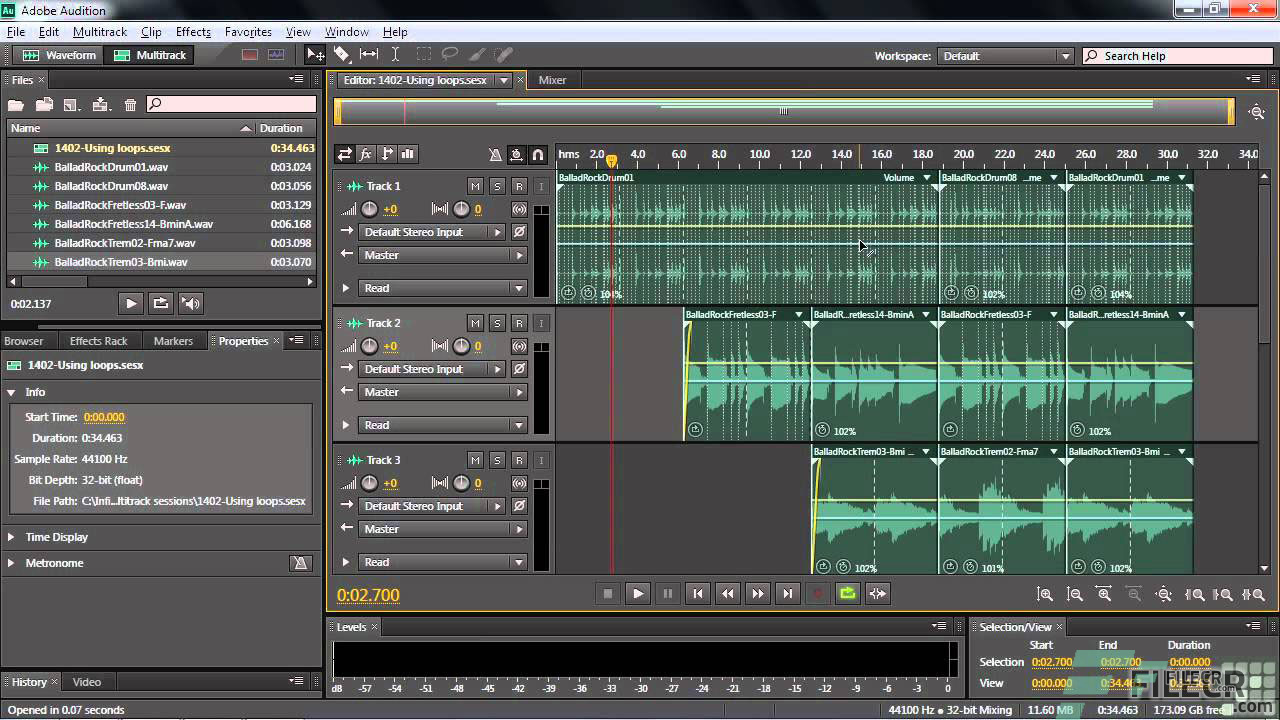 Scr4_Adobe Audition CC_Free download