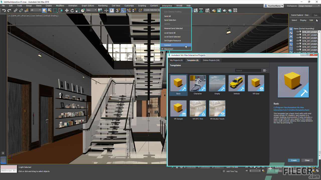 Scr6_Autodesk 3DS MAX Interactive_free download