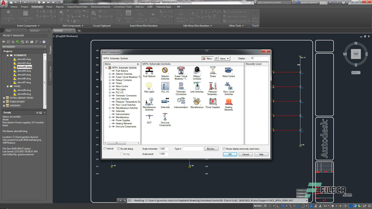 Scr6_Autodesk AutoCAD Electrical_free download