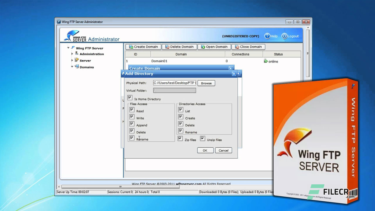 Wing FTP Server Corporate 6.3.9