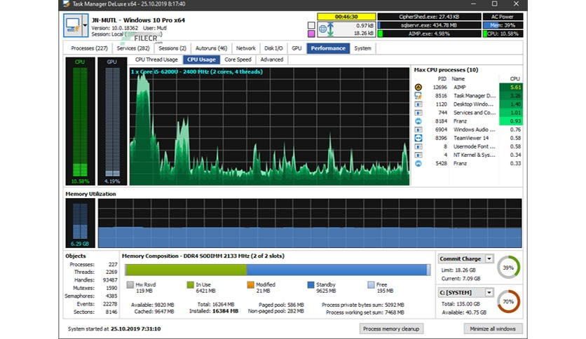 MiTeC Task Manager DeLuxe 3.7.0