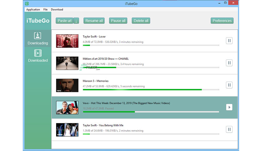 iTubeGo YouTube Downloader 3.6.1 Free Download - FileCR