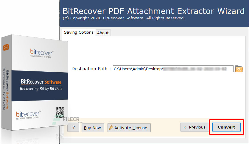 BitRecover PDF Attachment Extractor Wizard 2.1