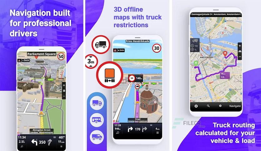 Sygic Truck GPS Navigation & Maps v20.6.1 build 2402 Final