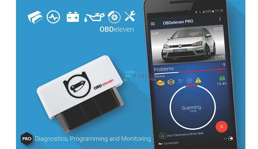 OBDeleven car diagnostics Pro v0.34.0