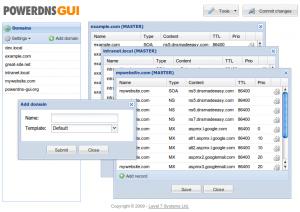 powerdns-gui-screenshot