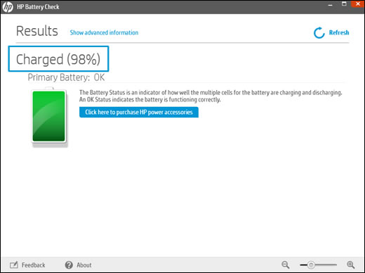 hp battery check free download