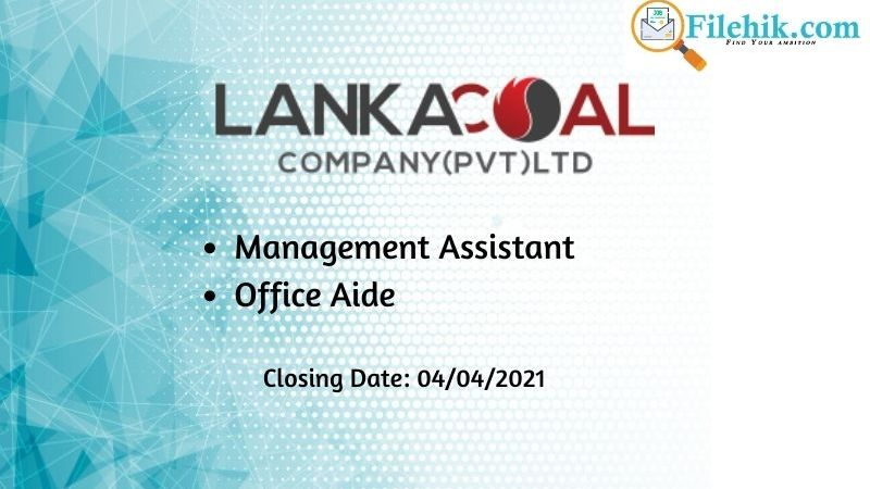 Management Assistant, Office Aide