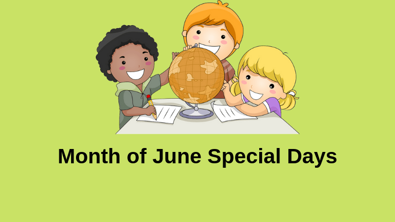 Month of June Special Days