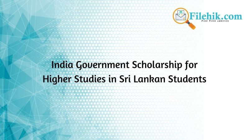 India Government Scholarship