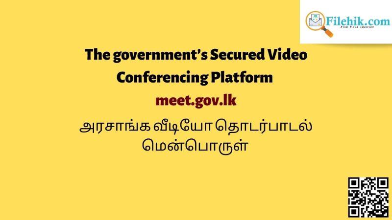 Sri Lanka Government Secured Video Conferencing