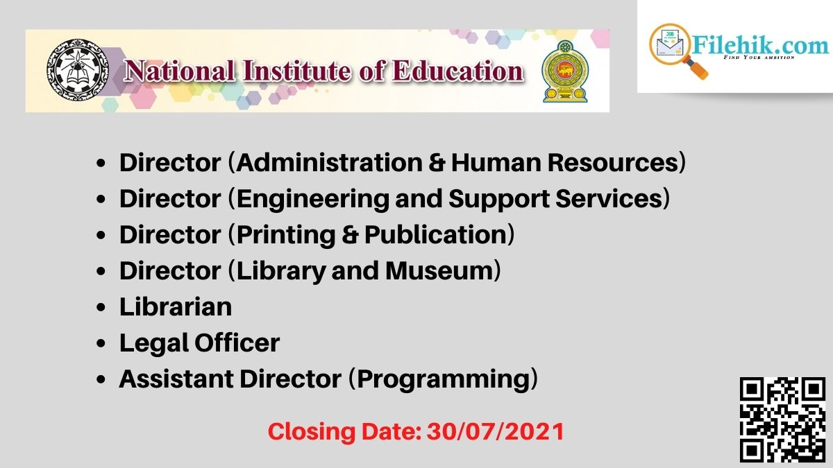 National Institute Of Education (Nie) Career Opportunities 2021