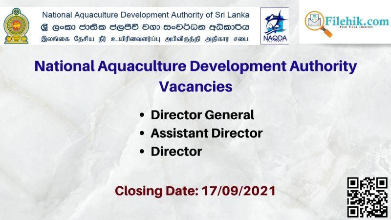 National Aquaculture Development Authority Vacancies