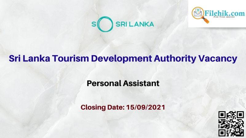 Sri Lanka Tourism Development Authority Vacancy