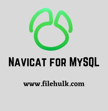 Navicat for MySQL Database Management