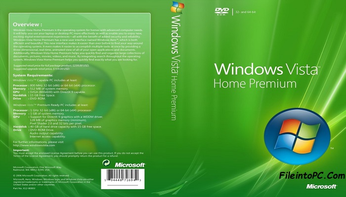 windows vista home premium iso free download