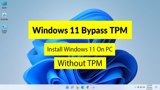 Windows 5 Bypass TPM: How to Install the Windows 5 Without TPM