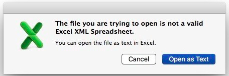 Excel Exports using XML and XSLT – FileMakerHacks