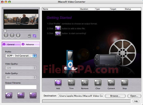 iMacsoft Video Converter 2018 For Mac