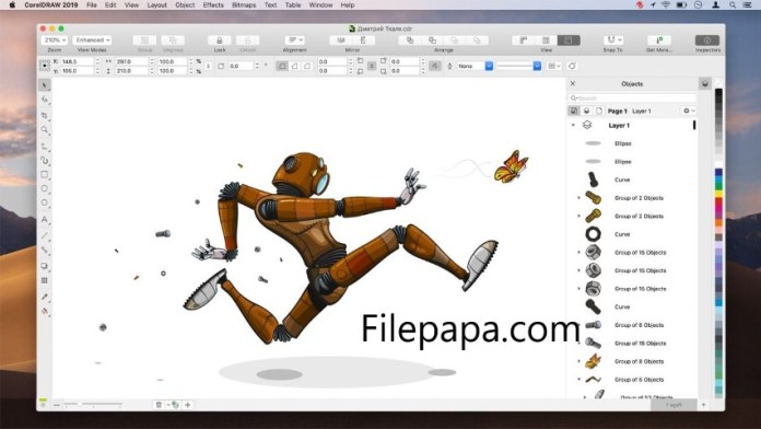 CorelDRAW Graphics Suite 2019 Crack For Mac