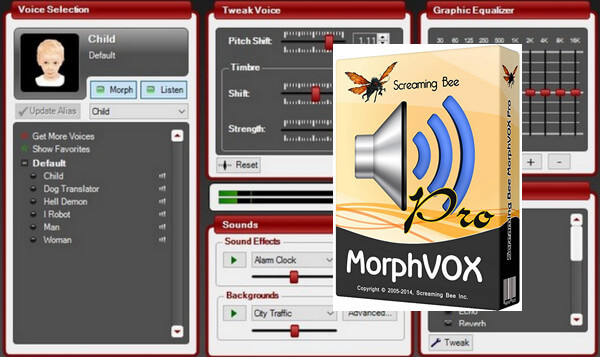 MorphVox Pro 4.5 With Crack