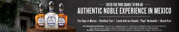 Casa Noble Tequila Distillery Experience