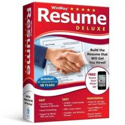 WinWay Resume Deluxe Cracked v14.00.016 [Latest]